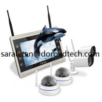Quality 1080P High Definition 4CH Home Surveillance WIFI Wireless IP Video Cameras NVR System wholesale