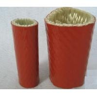 Quality Silicone Rubber Coated Fiberglass Sleeving Heat-Insulation And Flame-Resistance wholesale