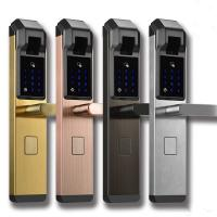 Quality School / Villa Use Intelligent Door Lock Multi Unlock Ways Available wholesale