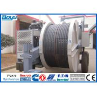 Quality Overhead Cables Power Line Stringing Machine , Two Bundle Conductor Tension Machine wholesale