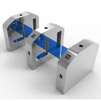 Quality Automatic Opening Swing Turnstile Barrier Gate Handicapped Wide Channel Smart Card Access Control wholesale