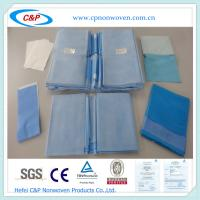 China Orthopedic Disposable Sterile Surgical Drape Pack on sale