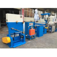 Quality Industrial PVC Cable Extruder Machine With Double Axis Pay Off Straightening Device wholesale