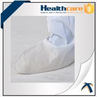 Quality Medical Disposable Shoe Covers Nonwoven Boot Cover For Ebola With Tie Or Elastic wholesale