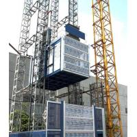 Quality Siemens PLC Landing Control Construction Hoist Elevator Reduction Ratio 1 : 16 wholesale