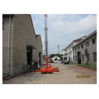 Quality Business Hall Self Propelled Hydraulic Work Platform With Lift Height 14 M wholesale