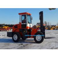 China FD60Y 6T Off Road Trucks , Rough Terrain Lift Truck For Moving And Lifting Cargo on sale