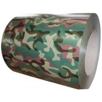 China SGS Multi Camouflage Color Coated Steel Coil 0.20 - 1.2MM Thickness on sale