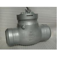 Quality CL 1500 API 594 Flanged Check Valve 2'' BW Pressure Self - Sealing Type wholesale