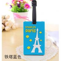 China Company logo luggage tag with insert card on sale
