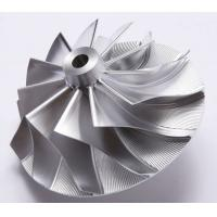 Quality Forged 5 Axles CNC Fully Machined Aluminum Billet Compressor Wheel For Various wholesale