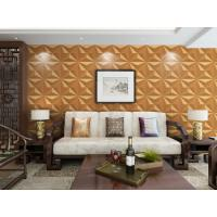 Cheap High End External Wall Cladding Custom 3D Wall Panels / 3D Wall Covering Waterproof for sale