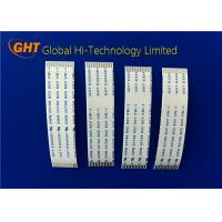 Quality Light Weight 1 mm Pitch Ribbon Cable  FFC Cable Heat Resistant UL Standard wholesale