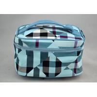 Quality Large folding cosmetic bag with handle , travel makeup box wholesale