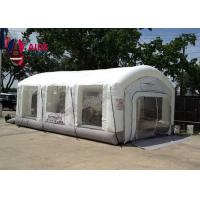 Cheap Open Face Dry Blow Up Spray Booth / Portable Auto Paint Booth For Mechanical Workshop for sale
