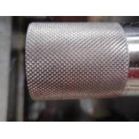 Buy cheap Grain Pattern Metal Steel Embossing Roller For engrave pattern product
