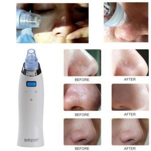 China Handheld pore cleaner Vacuum Blackhead Remover Vacuum Suction Tool Face Clean Facial Diamond Dermabrasion Machine on sale