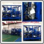 Quality Small Offline Transformer Oil Recycling Plant, Zja Transformer Oil Recycling Machine wholesale