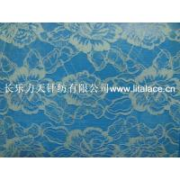 Quality M5001 Rose style non stretch lace fabric wholesale