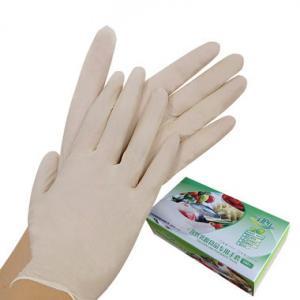 China Medical latex examination gloves malaysia on sale