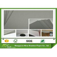 Buy cheap Recycled 700X1000mm 800gsm Grey Board Paper Laminated With MSDS product