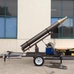 Quality telescopic mast hydraulic lifting trailer system wholesale