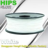 Quality Industrial HIPS 3D Printer Filament 1.75 / 3.0mm Common 3D Printing Materials wholesale