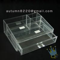 Quality BO (62) acrylic make up organizer case wholesale