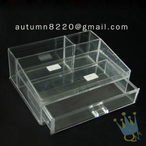 Quality BO (62) acrylic make up organizer case wholesale