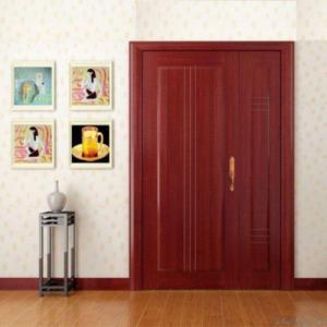 China Red Interior Wood Door on sale