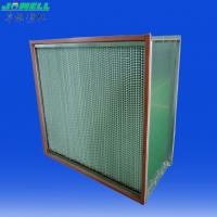 Quality Heat Resistant Glass Fiber Paper, 500 Pa Final Heat Resistant Filter For Food Processing wholesale