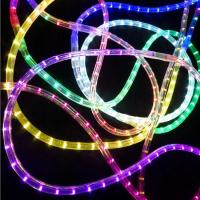 China 2 wires 13mm round LED flexible rope light R/Y/G/B/W/WW LED color lighting CE ROHS 230V on sale