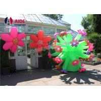 Quality Huge Inflatable Toys For Parties , Decorative Inflatable LED Flower Lights wholesale