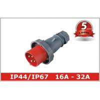 Quality 3 Phase16A 32A Industrial Plugs And Socket In Pin And Sleeve Connectors wholesale