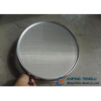 Cheap AISI/SUS Standard Stainless Steel Sieve Wire Mesh With 100, 200, 300, 400, 500, for sale