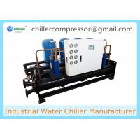 Quality 210kw 60Tons Scroll Water Cooled Chiller for Injection Machines wholesale