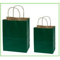 Cheap customized corrugated craft paper gift bags for Craft paper gift bags