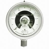 China Electric Contact Pressure Gauges on sale