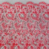 Quality Embroidered fabric,120cm width, Two tone color, Polyester,Various designs avaliable wholesale