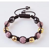 Quality 2012 new fashion Shamballa 10mm CZ Crystal Bangle Bracelet, OEM / ODM wholesale