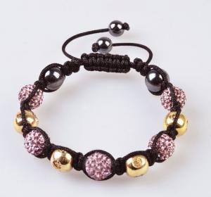 Quality 2012 new fashion Shamballa 10mm CZ Crystal Bangle Bracelet, OEM / ODM wholesale