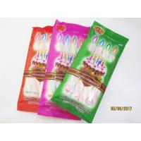 Cheap Happy Birthday Candle Marshmallow Candy / 11g /4 Pcs In One Bag Twist Cotton for sale