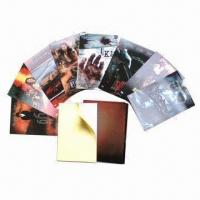 Quality 3D Lenticular Cards, Wonderful 3D Depth Designs, Fresh, Clear, Different Colors are Available wholesale