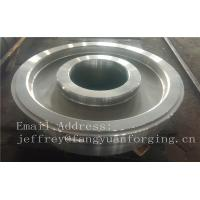 Quality EN JIS ASTM AISI BS DIN Forged Wheel Blanks Parts Grinding Wheel Helical Ring Gear Wheel wholesale