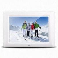 Quality 7-inch Rechargeable Digital Battery Frame, Supports Photos, Music, Videos, Super Auto Image Display wholesale