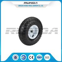 Quality Comb Pattern 10 Inch Pneumatic Wheels Large Friction Against Tire Skidding wholesale