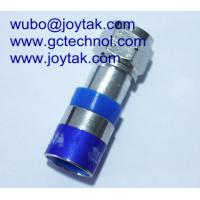 Buy cheap F Compression Connector coaxial connector For RG6U Coax Cable Internet Cable from wholesalers