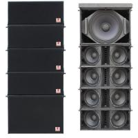 Cheap Dual 8 Stage Line Array Mini Pa Speakers Line