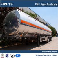 Quality tri-axle fuel trailer tankers with 38000 litres payload capacity wholesale