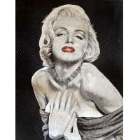 Quality Handmade Marilyn Monroe Mosaic Art Patterns Glass Mosaic Tile Art Mirror For Wall Painting wholesale